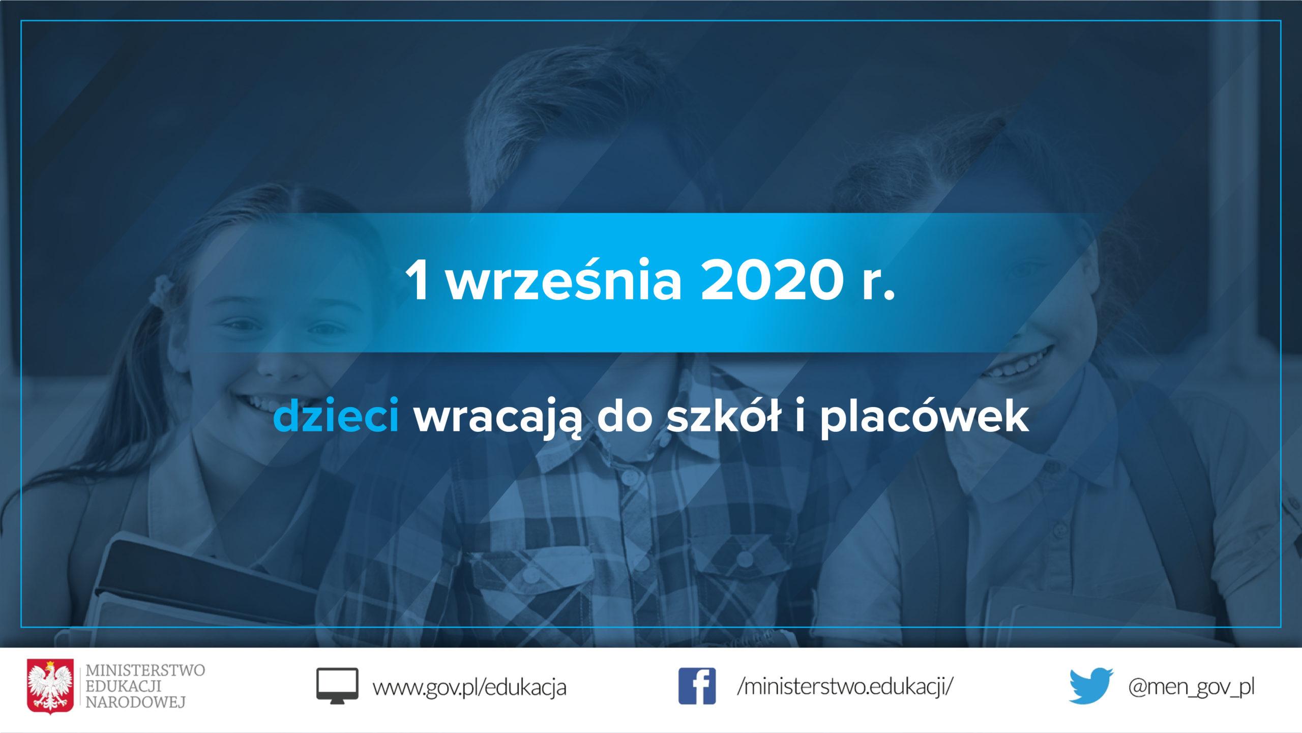 Thumbnail for the post titled: Bezpieczny powrót do szkoły.