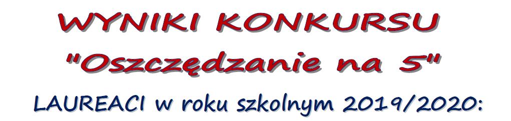 Thumbnail for the post titled: Wyniki konkursu